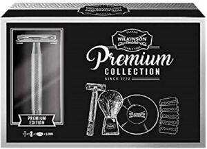 Wilkinson Sword Premium Classic Double Edge Safety Razor Gift Set Best UK Price