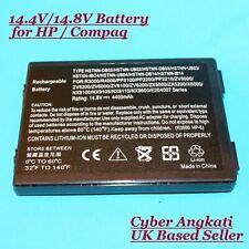 Battery For HP Pavilion ZD8000 ZV6000 NX9100 ZX5000 NX9105 NX9110 NX9600 14.8V