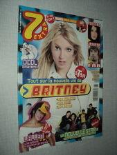 7 EXTRA 2005/06 (2/2/2005) BRITNEY SPEARS JENIFER FAB WALLEN LA NOUVELLE STAR 3