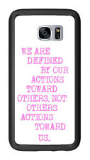 We Are Defined Quote For Samsung Galaxy S7 G930 Case Cover by Atomic Market