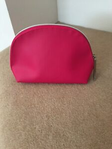 Pink Lancome Cosmetic Makeup Toiletry Bag - Brand New