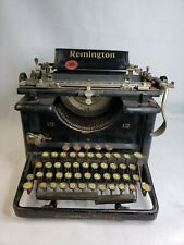 Vintage Remington Standard 12 Typewriter LM67077 New York USA Antique Untested
