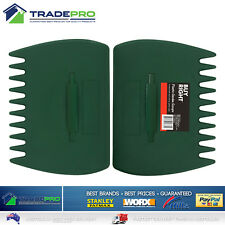 Garden Rake Hands Pair 2pc Leaf Grass Scoop Hand Pickup Claw Fingers All Sizes