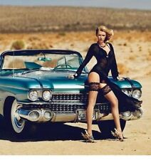Tailfin Cadillac Eldorado Car 1959 Vintage Metal Body 1 24 Racer 18 Race 12