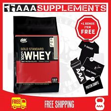 Optimum Nutrition Gold Standard Whey | 4.5kg Protein Supplement WPI Gym Fitness Chocolate