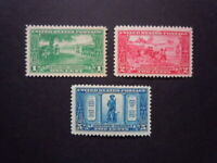 #617 #618 #619 Lexington-Concord Set MNH OG VF #1 CV $39.00