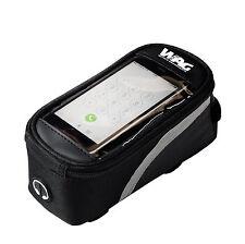 Bolsa Touchscreen Resistente Agua Porta Movil Smartphone Bicicleta + Cable 3995S