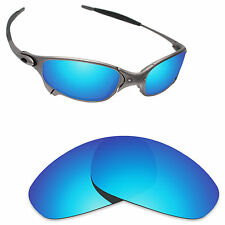 Hawkry Polarized Replacement Lenses for-Oakley Juliet Sunglass Ice Blue
