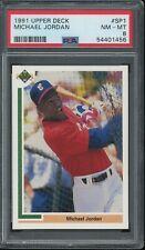 1991 Upper Deck Baseball MICHAEL JORDAN #SP1 RC Rookie PSA 8 NM-MT SP