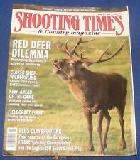SHOOTING TIMES MAGAZINE JUNE 27-JULY 3 1991 - RED DEER DILEMMA