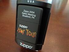 ZIPPO 2004 SALES MEETING BRADFORD PA ZIPPO HOT TOUR ZIPPO LIGHTER MINT RARE