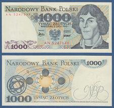 POLEN / POLAND 1000 Zlotych 1975 aUNC  P.146 a