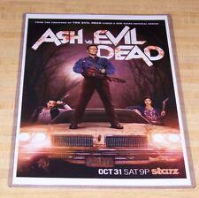Ash vs The Evil Dead 11X17 Starz Tv Poster Original Version