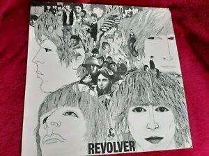The Beatles Revolver Vinyl LP Parlophone 1966 PCS 7009 2nd Press YEX-605 & 6 / 2