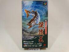 SUN SPORT FISHING KEIRYU OU NINTENDO SUPER FAMICOM SNES JAP GIAPPONESE SHVC-io