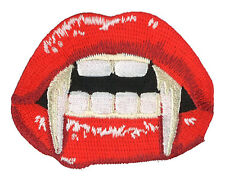 Vampire FANGS Patch Dracula Teeth Halloween Costume Monster Blood Fake Gothic