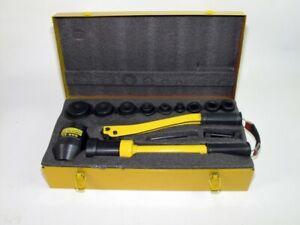 HHK-8A Hydraulic Knockout Punch Kit
