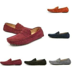 Chic Mens Slip On Pump Colorful Loafers Flat Driving Gommino Moccasins Shoes F@