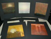 7 Prints, By Fritz Hass, On Black Carded Paper. Collection.