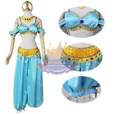 Custom Made Gorgeous Disney Princess Jasmin Costume Dress Cosplay Aladdin