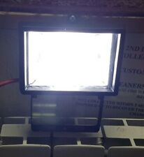 LED Outdoor Floodlight in Black complete with LED Bulb very bright
