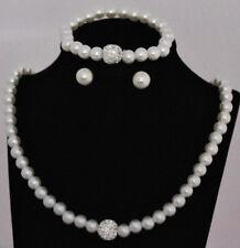 Modeschmuck Sets aus Perlen und Metall Legierung günstig