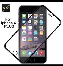 Tempered Glass Protector Edge to Edge Black for Apple iPhone 6 Plus / 6s Plus