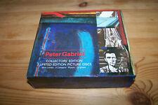 3 CD BOX - PETER GABRIEL - COLLECTORS EDITION - LIMITED EDITON - VIRGIN RECORDS