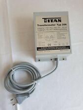 63843   Titan Transformator Typ 208 Lichttrafo 4A - 64A für die Modelleisenbahn