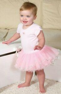 Baby Pink Tutu Ballet Princess Dance Fancy Dress Costume Age 3  4 5 6 Month
