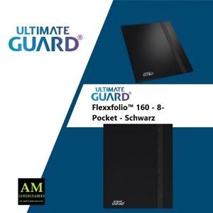 Ultimate Guard - Flexxfoli 160- 8 Pocket - Map Case Black - New / Orig.