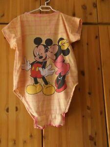 Adult Baby Mickey & Minnie  Biber -Body  S