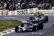 Mario Andretti & Ronnie Peterson Lotus 79 British Grand Prix 1978 Photograph 2