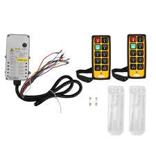 Wireless Remote Control Electric Hoist Crane Controller 2 Transmitter+1 Receiver