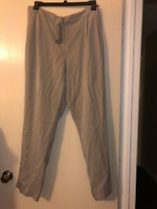 NWT $198 Eileen Fisher Tencel Pleated Tapered Pants Size 2X