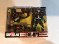 GI Joe Extreme Deluxe Iron Klaw with Ultra SLAM Firepower (1995)
