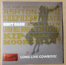 Boot Barn CD Long Live Cowboys Feat. Josh Turner, Lee Ann Womack, George Strait
