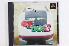 Densha / Densya de Go! 2 PS1 PlayStation PS One Japan Import US Seller P1365