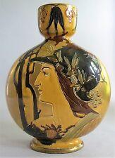 """Fine & Rare 14"""" English THOMAS FORESTER REMBRANDT Art Nouveau Vase  c. 1900"""