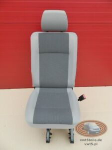 VW T6 Transporter rear seat single right side AUSTIN grey t5