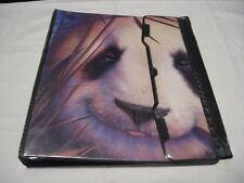 RARE Old School 90's 1996 Mead Zoosters Panda Bear School Notebook 3-Ring Binder