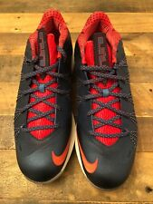 Nike Air Zoom LeBron 10 X Low USA Olympic Blue Red White Size 13 DS New
