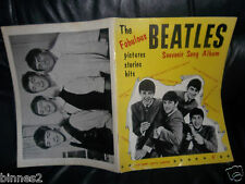 THE BEATLES 1963 FIRST SONG BOOK SHEET MUSIC LYRICS AND MUSICAL NOTES PHOTOS ETC
