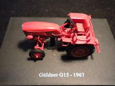Hachette Tractors - GULDNER G15 - 1967