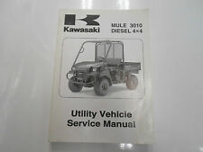 2008 Kawasaki Mule 3010 Diesel 4x4 Utility Vehicle Service Manual WATER DAMAGED