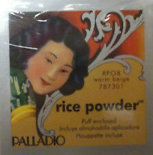 3 boxes Palladio Rice Powder (Warm Beige) Oil Absorbing Loose Powder