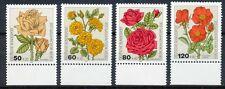 Bundespost 1150 - 1153 postfris motief bloemen/rozen