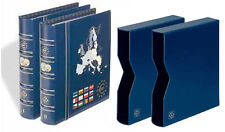 Vista Euro Coin Album Set - Volumes No.1 & No.2 including Matching Slipcases