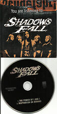 SHADOWS FALL 2004 Ultra Rare 2 TRX SAMPLER PROMO DJ CD Single  Limited edition