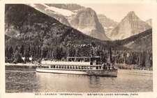 Waterton Lakes National Park Alberta Canada Steamer International PC J77056
